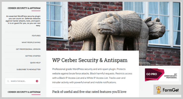 Cerber Security & Antispam WordPress Plugin