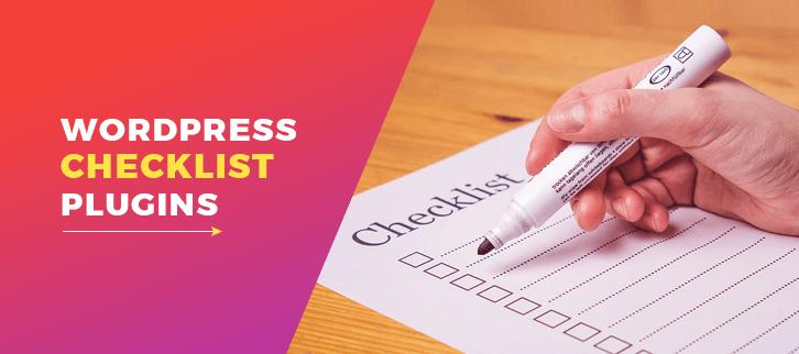 Checklist WordPress Plugins