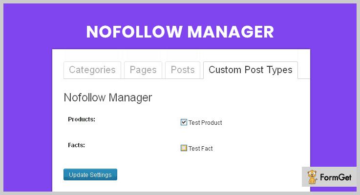 Nofollow Manager Nofollow WordPress Plugins