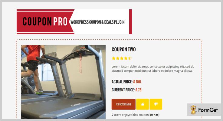 Coupon Pro WordPress Coupon Plugin