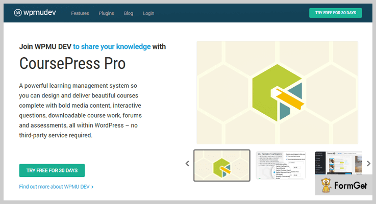 CoursePress Pro WordPress E-learning Plugin