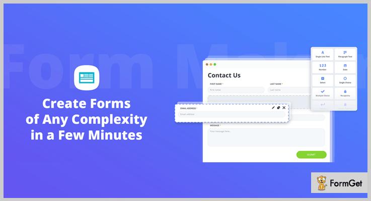 Form Maker by 10Web