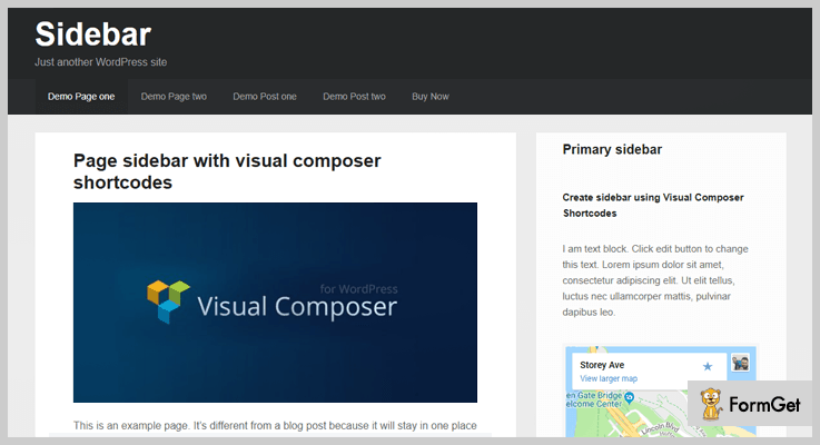 Custom Sidebar Visual Editor WordPress Plugin