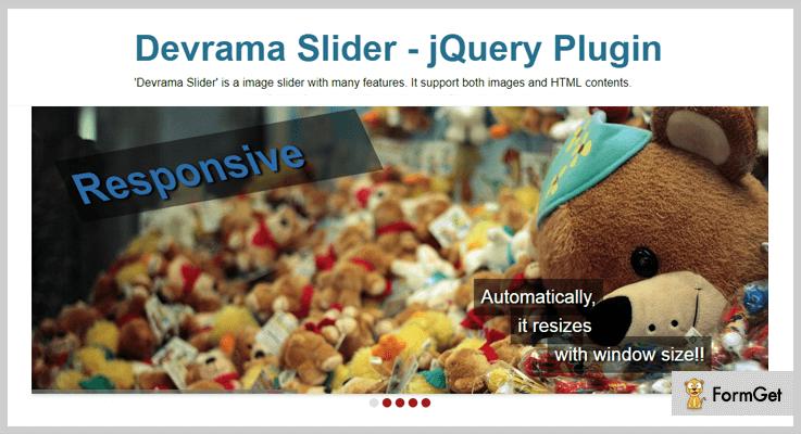 Devrama Slider jQuery Plugin