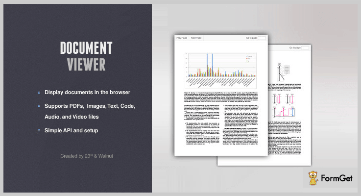 Document Viewer PDF Viewer jQuery Plugin