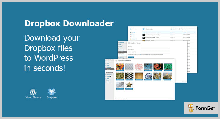 Dropbox Downloader WordPress Dropbox Plugin