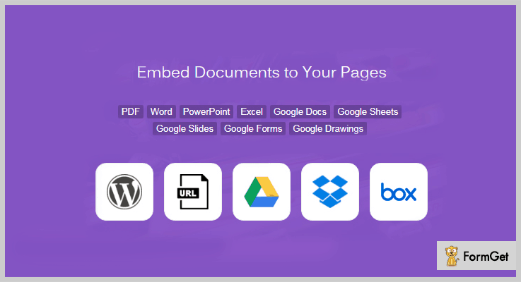 Embed Document WordPress Plugin