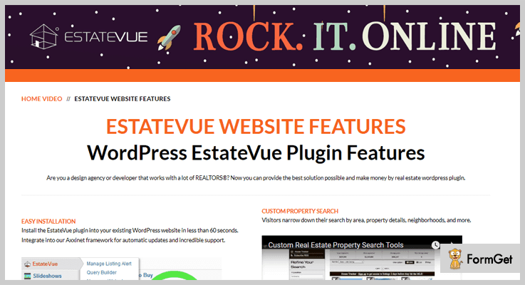 EstateVue IDX WordPress Plugin