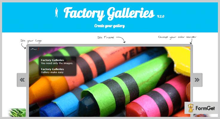 Factory Galleries jQuery Gallery Plugin