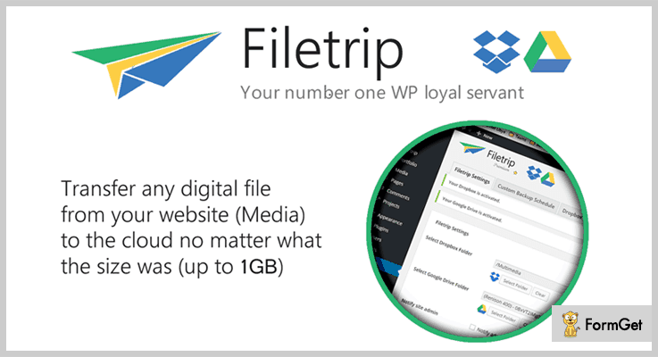 Filetrip Dropbox WordPress Plugin