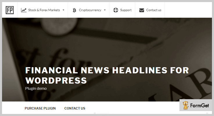 Financial News Headlines for WordPress