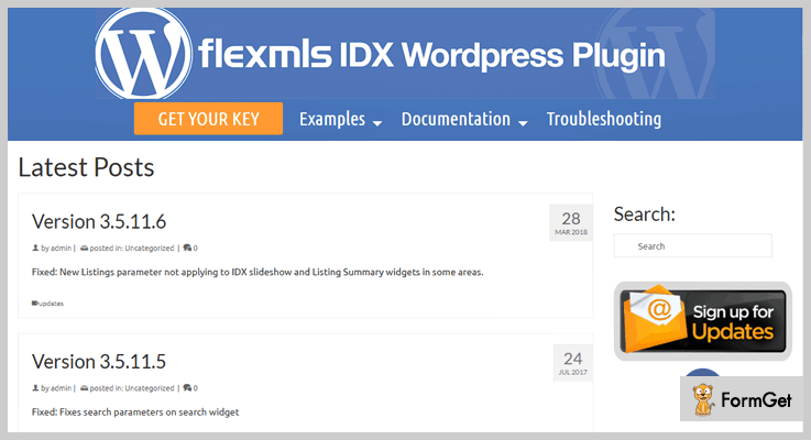 FlexMLS IDX Plugin