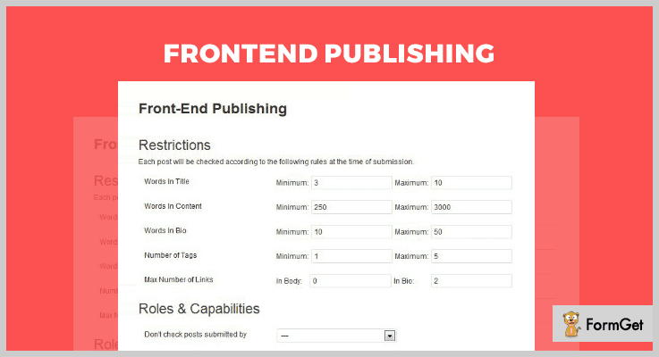 Frontend Publishing Article Directory WordPress Plugins