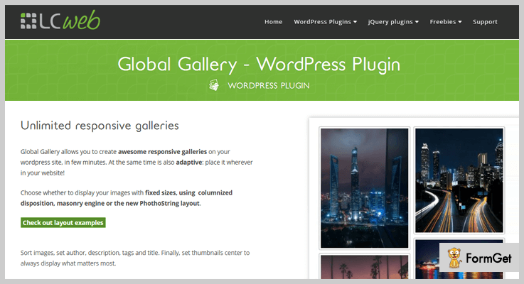 Global Gallery Watermark WordPress Plugin