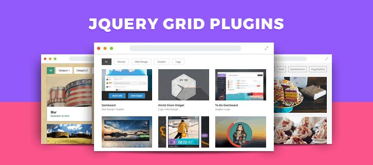 jQuery Grid Plugins