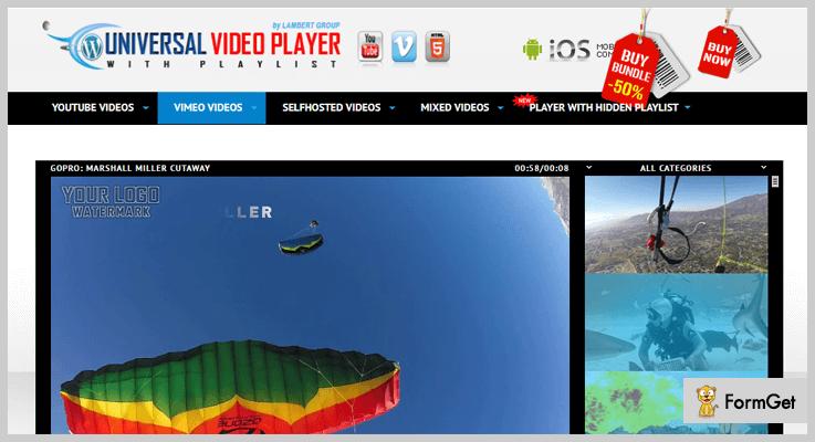 HTML5 Video Player WordPress Plugins