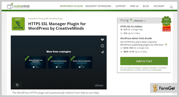 HTTPS SSL Manager HTTPS WordPress Plugin