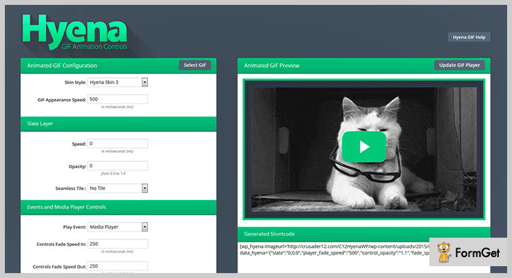 Hyena GIF WordPress Plugins