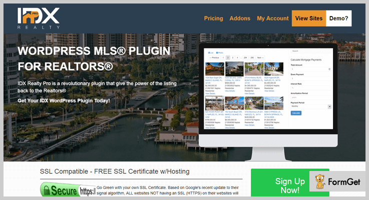 IDX Realty Pro WordPress Plugin