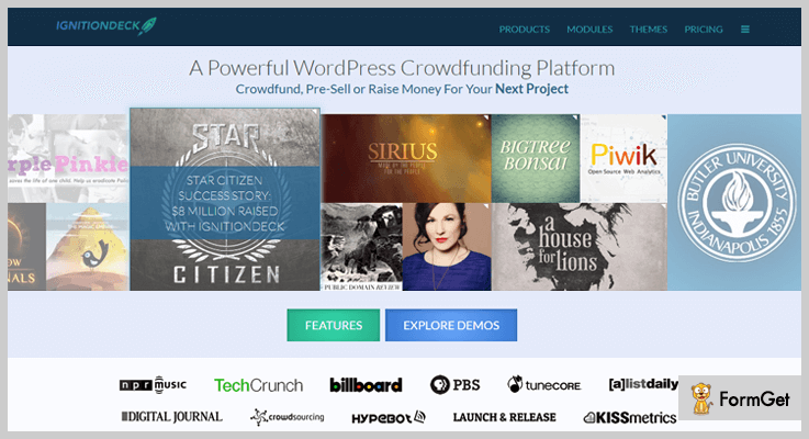 IgnitionDeck Crowdfunding WordPress Plugins