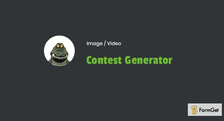 Image / Video Contest Generator WordPress Giveaway Plugin