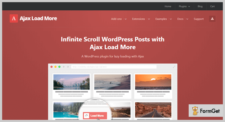 Ajax Load More WordPress Infinite Scroll Plugins