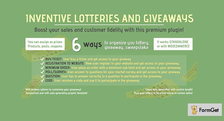 Inventive Lotteries WordPress Giveaway Plugin