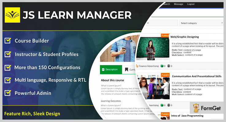 JS Learn Manager Pro