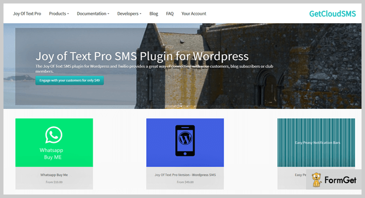 Joy Of Text Lite WordPress SMS Marketing Plugin
