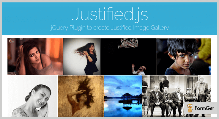 Justified.js jQuery Image Gallery Plugins