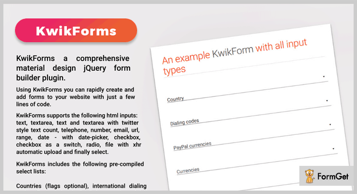 KwikForms jQuery Form Plugin