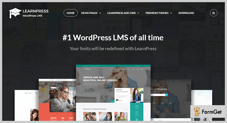 LearnPress Free WordPress E-learning Plugin