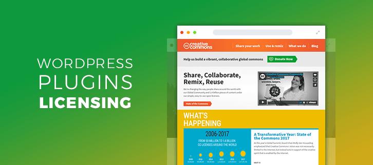 WordPress Plugins Licensing