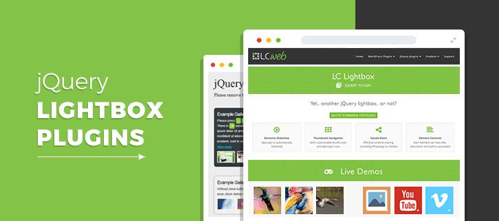 jQuery Lightbox Plugins