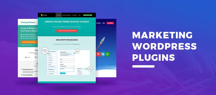 5+ Marketing WordPress Plugins 2018 (Free and Paid)