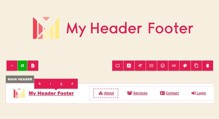 My Header Footer