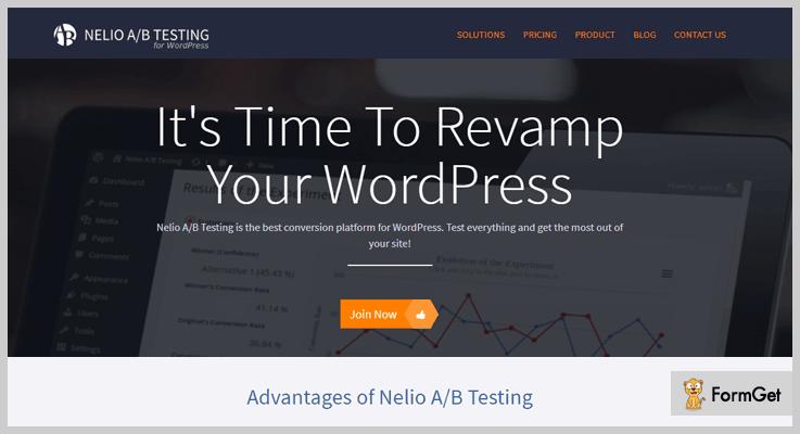 Nelio A/B Testing WordPress Plugins