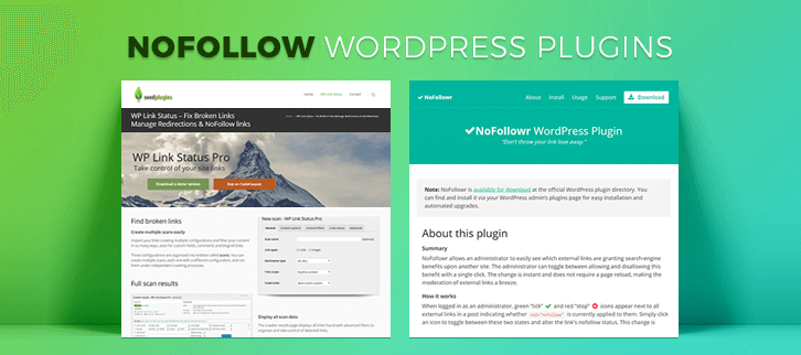 Nofollow WordPress Plugins
