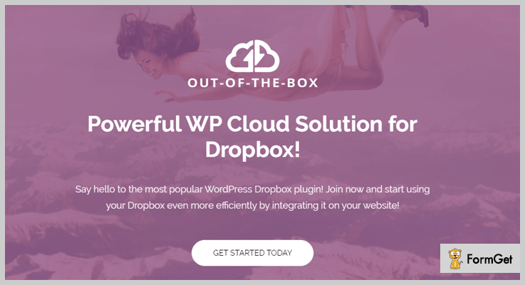 Out Of The Box Dropbox WordPress Plugin