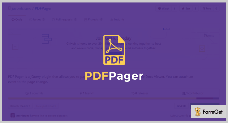 PDF Pager PDF Viewer jQuery Plugin