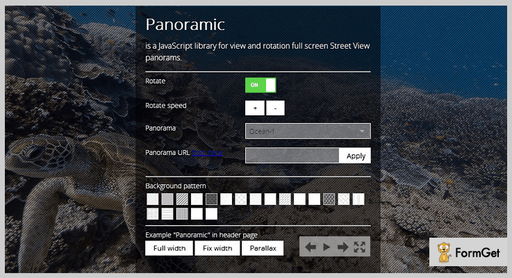 Panoramic jQuery Plugin