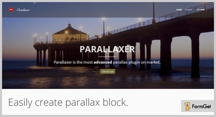 Parallaxer WP - Parallax Effect WordPress Plugins
