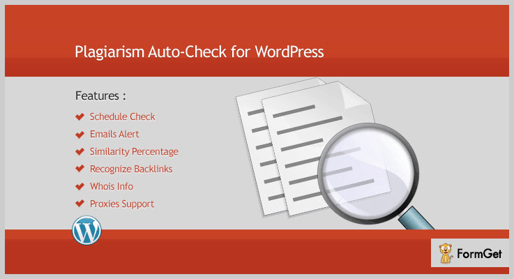 plagiarism auto check for wordpress