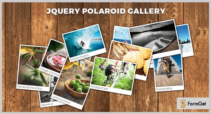 Polaroid jQuery Gallery Plugin