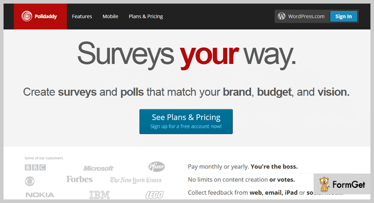 Polldaddy Polls & Ratings Poll WordPress Plugin