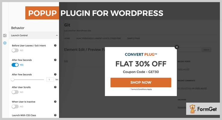 ConvertPlus Lead Generation WordPress Plugin