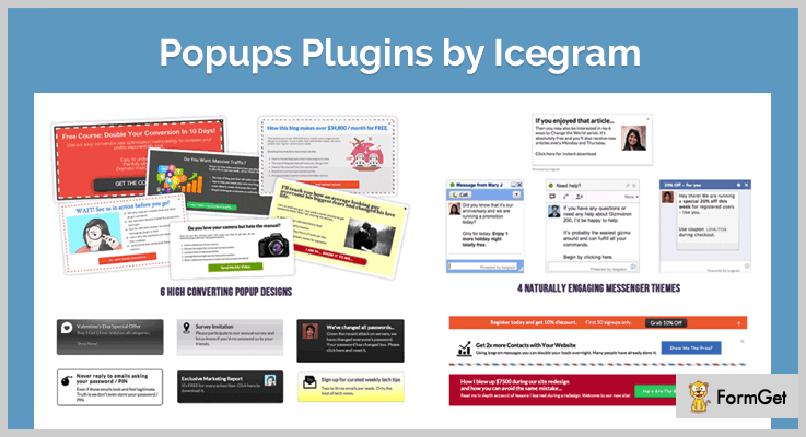 Popups Plugins by Icegram