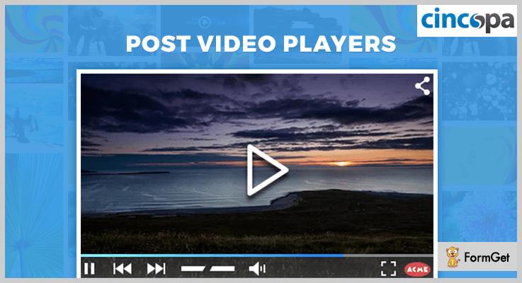 Post Video Players WordPress Playlist Plugins