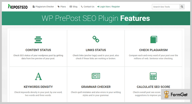 PrePost SEO Plagiarism Checker WordPress Plugin