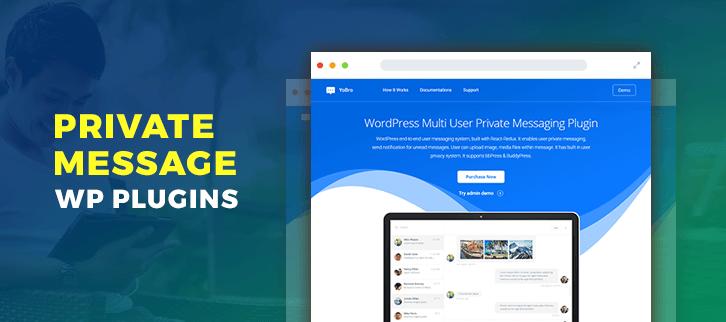 Private Message WordPress Plugins